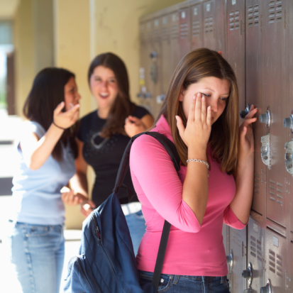 Bullying affects teen age girls as well as boys