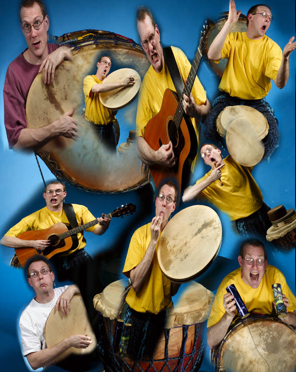 Mark Shepard's DrumSongStory Promo Photo